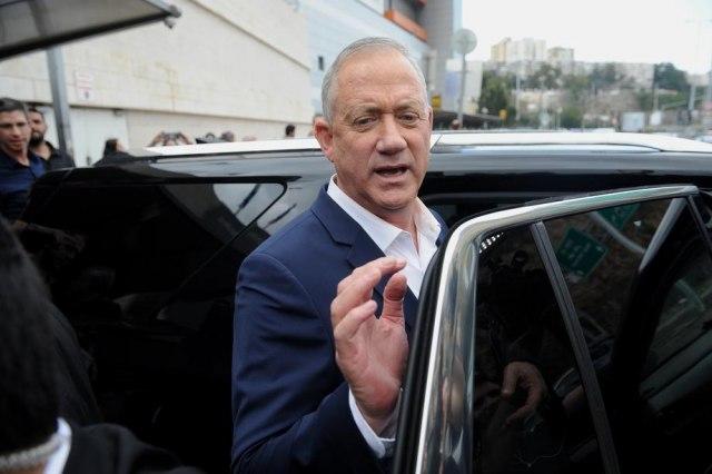 Ganc izabran za predssednika Kneseta