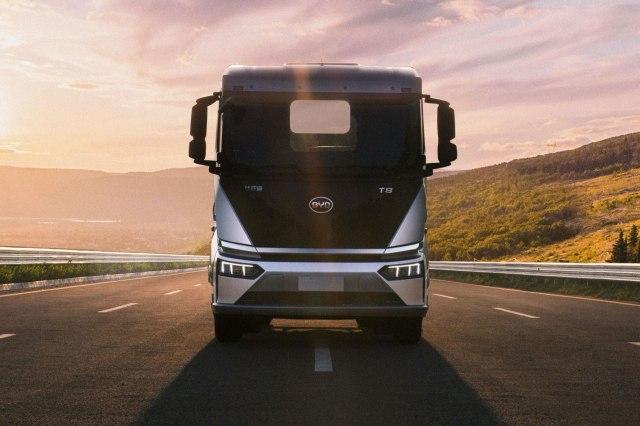 BYD električni kamion (Foto: BYD promo)