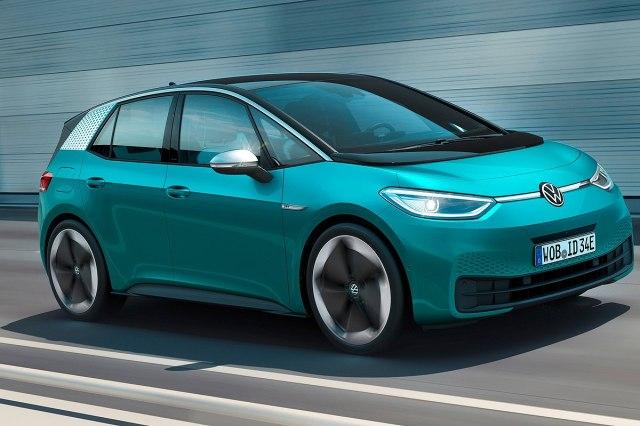 Električni Volkswagen ID.3 (Foto: VW promo)