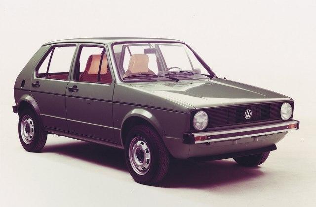 Volkswagen Golf 1 (Foto: VW promo)