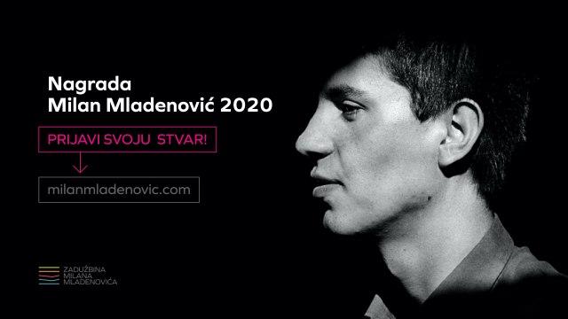Otvoren konkurs za Nagradu ''Milan Mladenović''