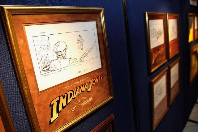 Crtež Indiana Jones and the Last Crusade