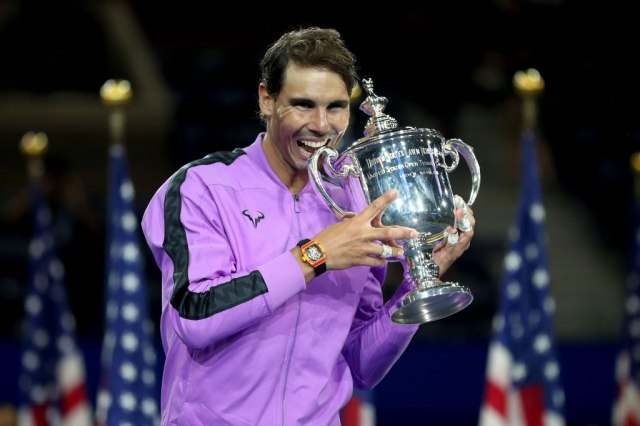 Rafa Nadal, aktuelni šampion US opena (Matthew Stockman/Getty Images)