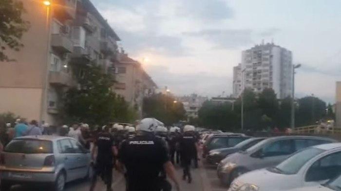 Policija ispalila suzavac, uhapšena poslanica Demokratskog fronta ...