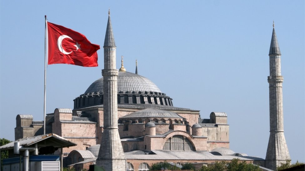 Aja Sofija i Turska: Erdogan potpisao ukaz - muzej postao džamija ...