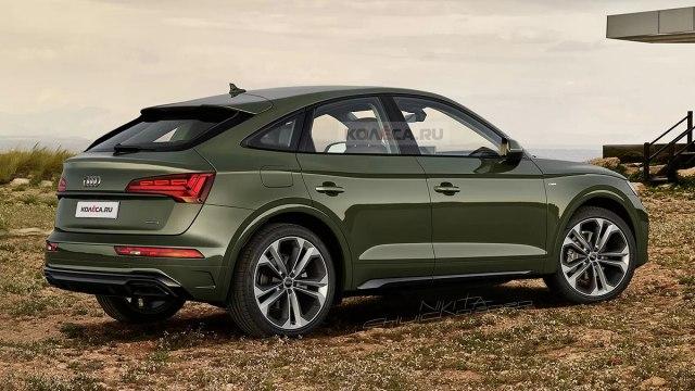 Audi Q5 Sportback Render: Kolesa.ru