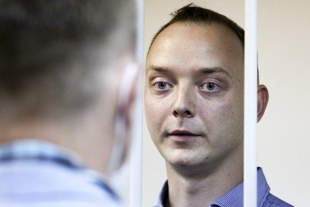Ruski novinar optužen za veleizdaju