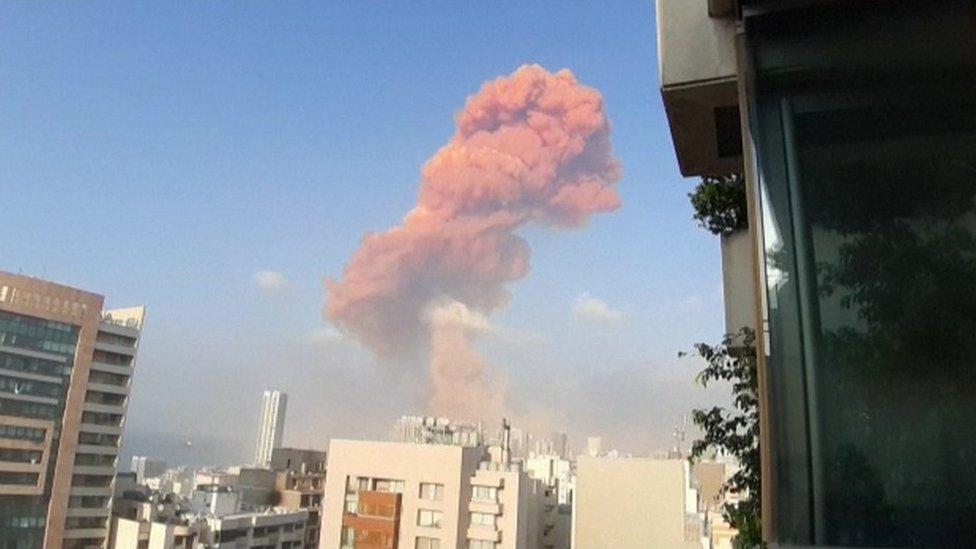 Ekslozija se dogodila u lučkom delu grada/AFP