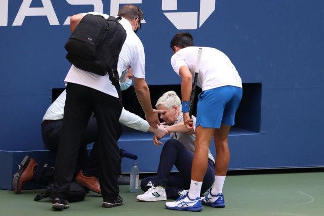 Sudija koju je Đoković pogodio se oseća dobro - Vesti - US Open 2020 -  Sport - B92.net