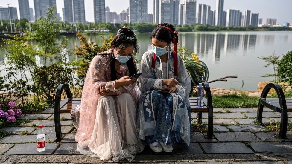 Many Chinese people do have email addresses, but check them far less regularly than their western counterparts/Getty Images
