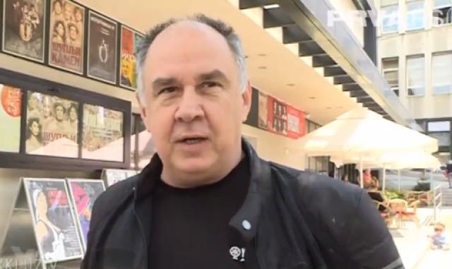 Glumac Svetislav Bule Goncić novi predsednik Upravnog odbora Narodnog pozorišta