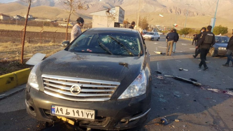 Fakhrizadeh was wounded in the attack and later died in hospital, officials said/EPA