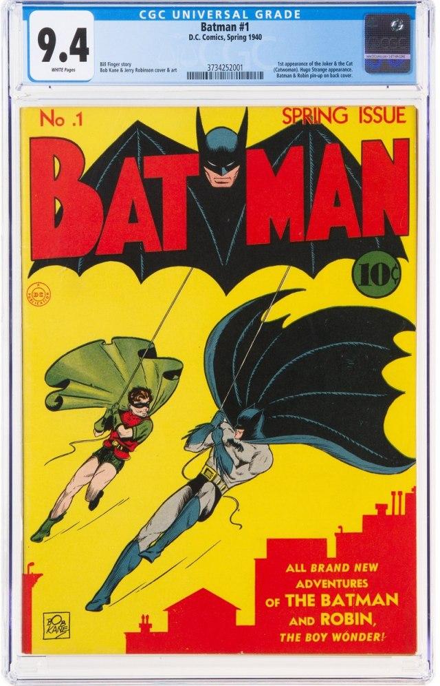 """Prvi broj """"Betmena"""" dostigao milionsku cenu - aukcija još nije ni počela"""