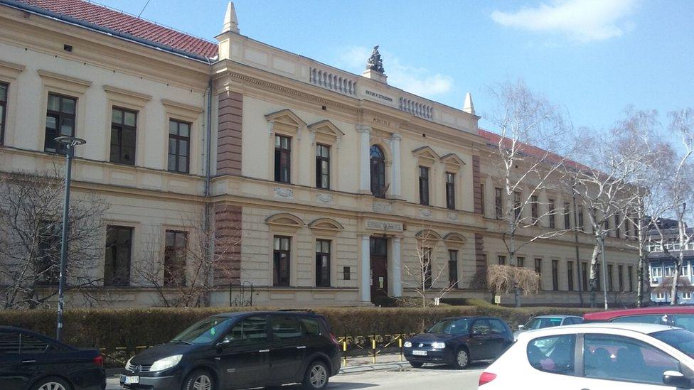 U ovoj zgradi je do 1959. bila Zaječarska gimnazija, danas je ovde Osnovna škola Ljuba Nešić/BBC
