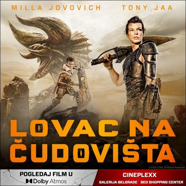 plakat filma Lovac na čudovišta