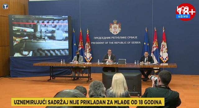 DRAMATIČNA PRESS KONFERENCIJA U BEOGRADU: Prikazane šokantne fotografije, Vučić i njegova porodica prisluškivani 1.572 puta, svi iz BIA-e i MUP-a pali na poligrafu!