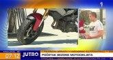 Motociklisti su ponovo na ulicama – razlog za povećanu opreznost VIDEO