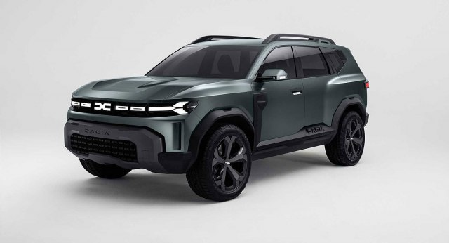 Dacia Bigster koncept iz 2021. (Foto: Dacia promo)