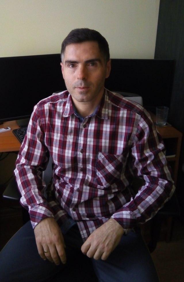 Željko Miladinović; Foto: Privatna arhiva