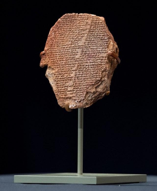 Gilgamešova ploča stara 3.500 godina vraćena u Irak nakon 30 godina