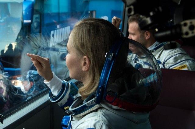 Ruska filmska ekipa prispela na Međunarodnu svemirsku stanicu FOTO/VIDEO