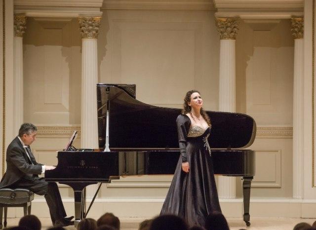 Sopranistkinja Marija Jelić ostvarila je svoj veliki američki debi u čuvenom Karnegi holu